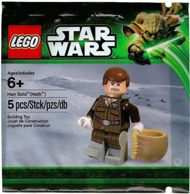 LEGO Star Wars Exclusive Set #5001621 Han Solo {Hoth} [Bagged]
