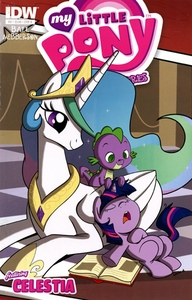 My Little Pony Micro-Series Featuring Celestia Comic Book #8 Cover B