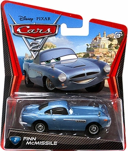 Disney / Pixar CARS 2 Movie 1:55 Die Cast Car #2 Finn McMissile MEGA Hot!