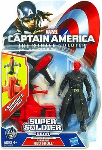 Captain America The Winter Soldier 3.75 Inch Action Figure Red Skull [Air Raid] New!