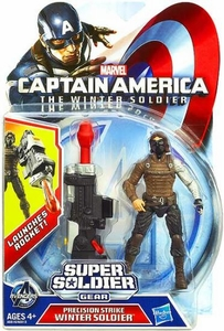 Captain America The Winter Soldier 3.75 Inch Action Figure Precision Strike Winter Soldier