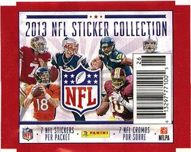 Panini NFL Football 2013 Sticker Collection Pack [7 Stickers]