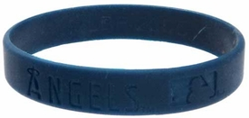Official MLB Major League Baseball Team Rubber Bracelet Anaheim Angels [Midnight Blue]