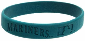 Official MLB Major League Baseball Team Rubber Bracelet Seattle Mariners [Green]