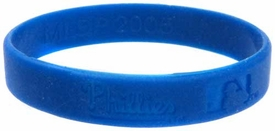 Official MLB Major League Baseball Team Rubber Bracelet Philadelphia Phillies [Blue]