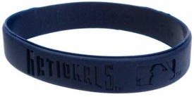 Official MLB Team Rubber Bracelet Washington Nationals [Blue]