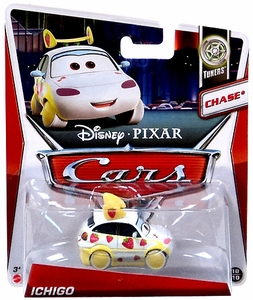 Disney / Pixar CARS Movie 1:55 Die Cast Car Ichigo [Tuners 10/10] Chase Piece!