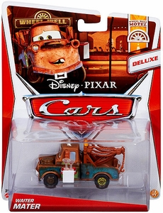 Disney / Pixar CARS Movie 1:55 Die Cast Car Waiter Mater [Wheel Well Motel 11/11]