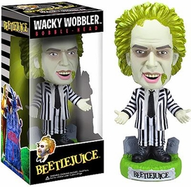 Funko Beeteljuice Wacky Wobbler Bobble Head Beetlejuice
