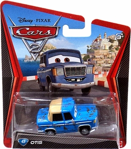 Disney / Pixar CARS 2 Movie 1:55 Die Cast Car #43 Otis
