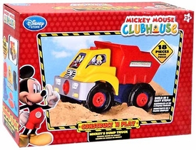 Disney Exclusive Mickey Mouse Clubhouse Construct 'N Play Mickey's Dump Truck