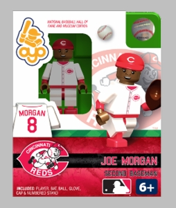 OYO Baseball MLB Building Brick Minifigure Joe Morgan [Cincinnati Reds]