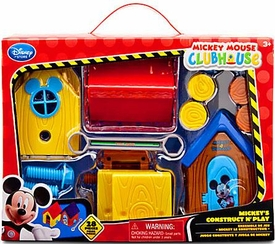 Disney Exclusive Mickey Mouse Clubhouse Playset Mickey's Construct N' Play