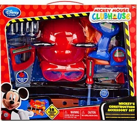 Disney Exclusive Mickey Mouse Clubhouse Playset  Mickey's Construction Accessory Set