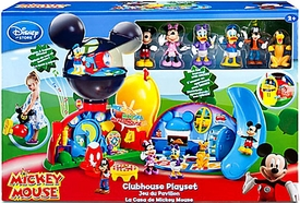 Disney Exclusive Mickey Mouse Clubhouse Deluxe Playset