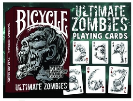 Ultimate Zombie Playing Card Deck Pre-Order ships March