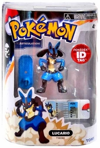 Pokemon TOMY 4 Inch PVC Legendary Figure Lucario