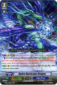 Cardfight Vanguard ENGLISH Blue Storm Armada Single Card RRR Rare BT08-006 Hydro Hurricane Dragon