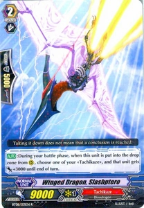 Cardfight Vanguard ENGLISH Blue Storm Armada Single Card Rare BT08-031 Winged Dragon, Slashptero