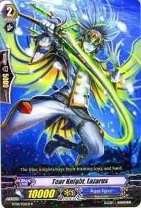 Cardfight Vanguard ENGLISH Blue Storm Armada Single Card Rare BT08-036 Tear Knight, Lazarus