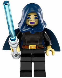 LEGO Star Wars LOOSE Mini Figure Clone Wars Barriss Offee with Silver Lightsaber [Version 2]