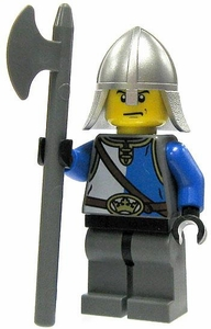 LEGO Castle LOOSE Minifigure King's Knight with Pole Axe