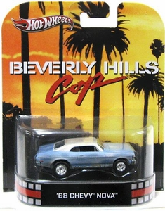Hot Wheels Retro Beverly Hills Cop 1:55 Die Cast Car '68 Chevy Nova