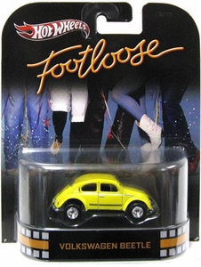 Hot Wheels Retro Footloose 1:55 Die Cast Car Volkswagen Beetle