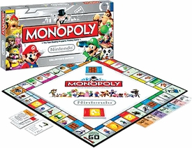 Monopoly Set Nintendo Collector's Edition