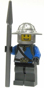 LEGO Castle LOOSE Minifigure King's Knight with Spear in Tabard