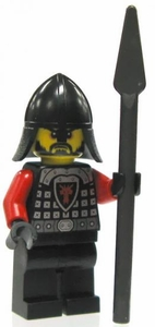 LEGO Castle LOOSE Minifigure Dragon Soldier with Spear