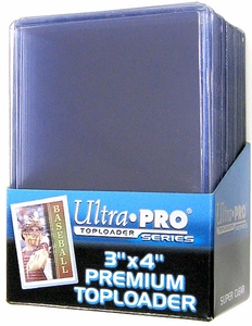 Ultra Pro Card Supplies 25 Count Top-Loader Hard Case