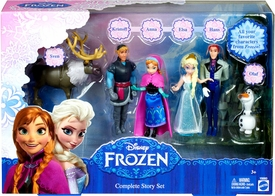 Disney Frozen 3.75 Inch Action Figure 6-Pack Complete Story Set [Kristoff, Anna, Elsa, Hans Olaf & Sven] Hot! Pre-Order ships May