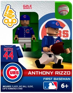 OYO Baseball MLB Generation 2 Building Brick Minifigure Anthony Rizzo [Chicago Cubs]
