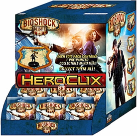 Bioshock Infinite HeroClix Booster BOX [24 Packs]