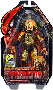 NECA Predator 2013 SDCC San Diego Comic-Con Exclusive Action Figure Albino Predator