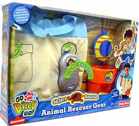 Go Diego Go! Animal Adventure Talking Rescuer Vest Gear Set