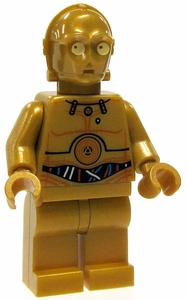 LEGO Star Wars LOOSE Mini Figure C-3PO [Color Printed Details]