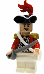 LEGO Pirates of the Caribbean LOOSE Mini Figure Lieutenant Theodore Grove [Cutlass]