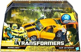 Transformers Hunt For The Decepticons Human Alliance Bumblebee with Sam Witwicky