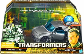 Transformers Hunt For The Decepticons Human Alliance Autobot Jazz with Captain Lennox
