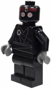 LEGO Teenage Mutant Ninja Turtles LOOSE Mini Figure Foot Soldier  [Black]