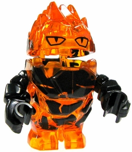 LEGO Power Miners LOOSE Complete Mini Figure Crystal Lava Monster Firax [Orange]
