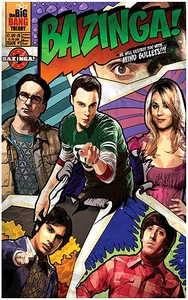 Bif Bang Pow! The Big Bang Theory Journal Bazinga!