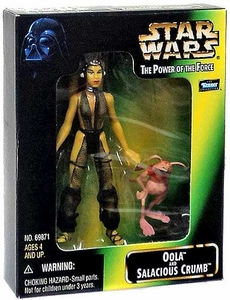 Star Wars Kenner Power of the Force Action Figure 2-Pack Oola & Salacious Crumb