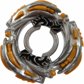 Beyblades Metal Fusion LOOSE Parts LIMITED EDITION Energy Ring L-Drago II [Gray and Yellow] [LEFT SPINNING]