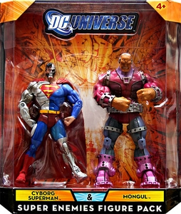 DC Universe Classics Exclusive Super Enemies Action Figure 2-Pack Cyborg Superman & Mongul