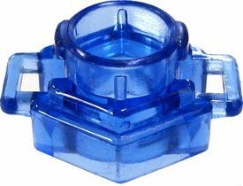 Beyblades Metal Fusion LOOSE Parts Spin Track Low Profile 105 [Trans Blue]