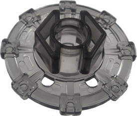 Beyblades Metal Fusion LOOSE Parts Spin Track Shield 130 [Trans Black]