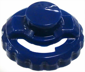 Beyblades Metal Fusion LOOSE Parts Performance Tip Semi-Defense [Dark Blue]